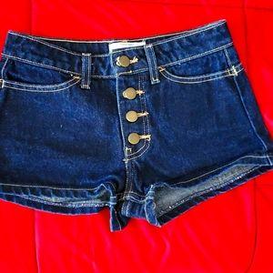 Denim shorts,size 24